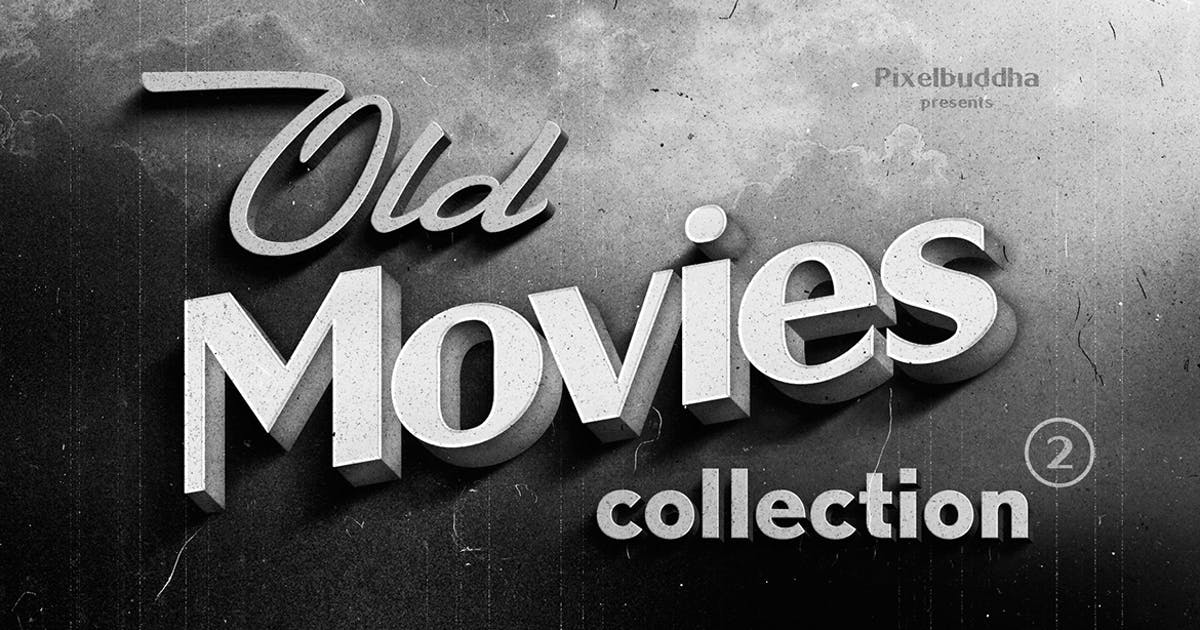 Download Old Movie Titles Collection 2 by pixelbuddha_graphic