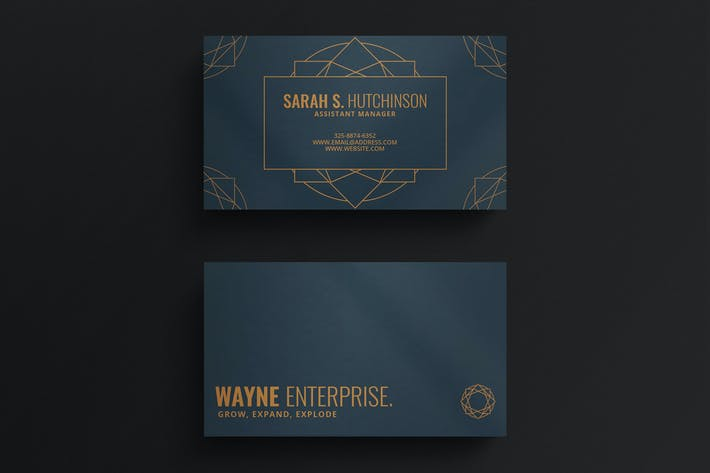 Thumbnail for Simple Elegant Business Card