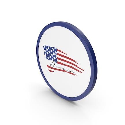 Icon American Flag