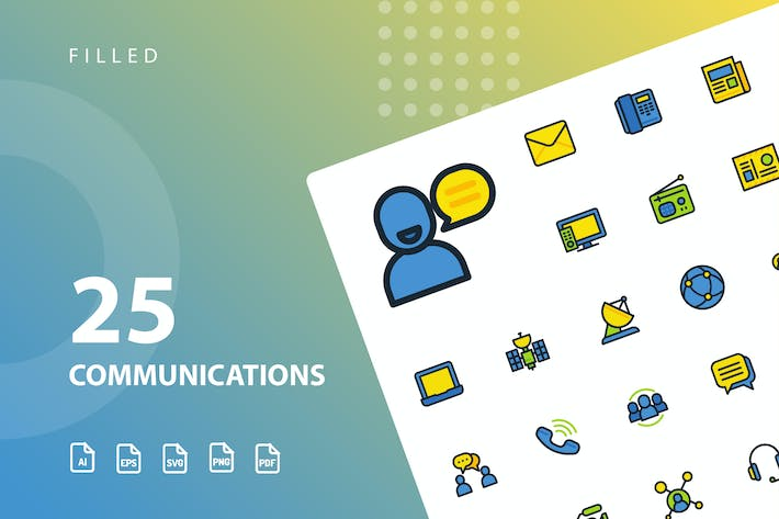 Cover Image For Communication Filled