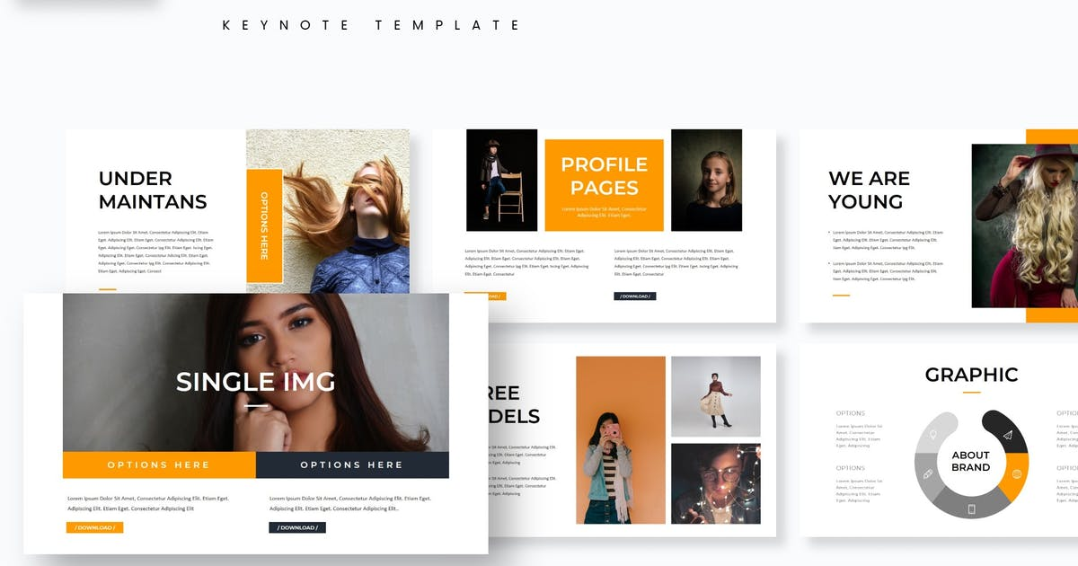 Download Momoa - Keynote Template by aqrstudio