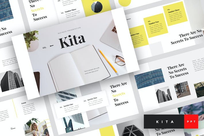 Thumbnail for Kita - Business PowerPoint Template