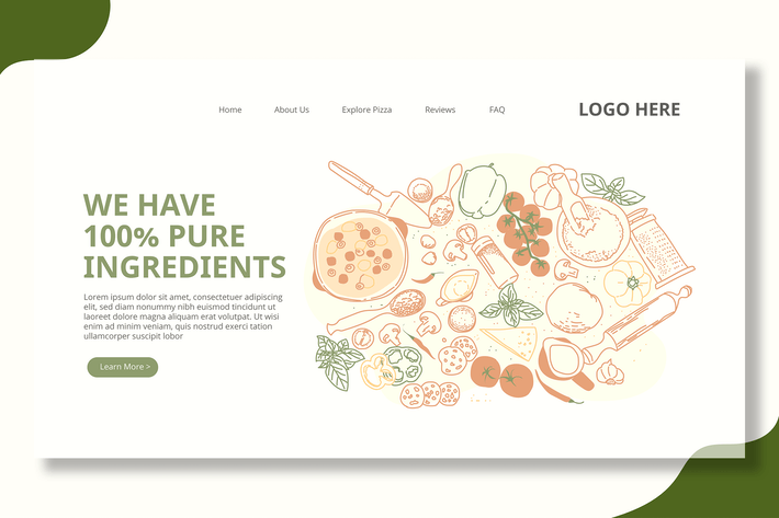 Thumbnail for Food Ingredients - Landing Page