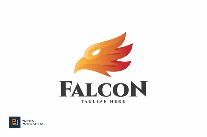 Thumbnail for Falcon - Logo Template