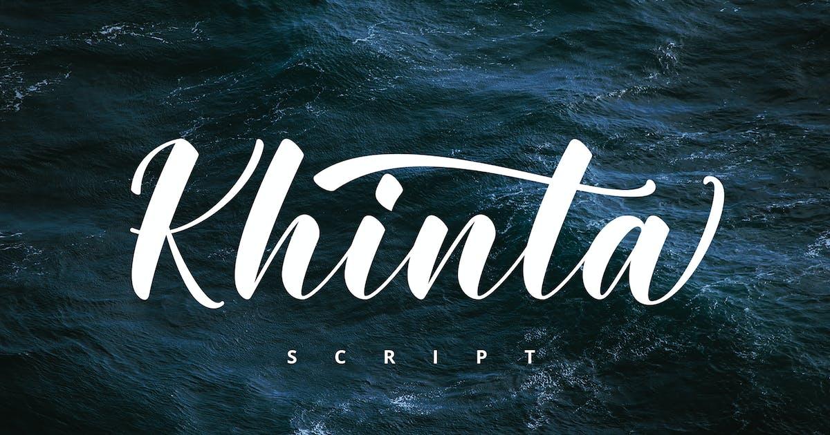 Khinta Script by FadeLine_Std