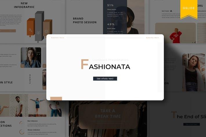 Thumbnail for Fashionata | Google Slides Template
