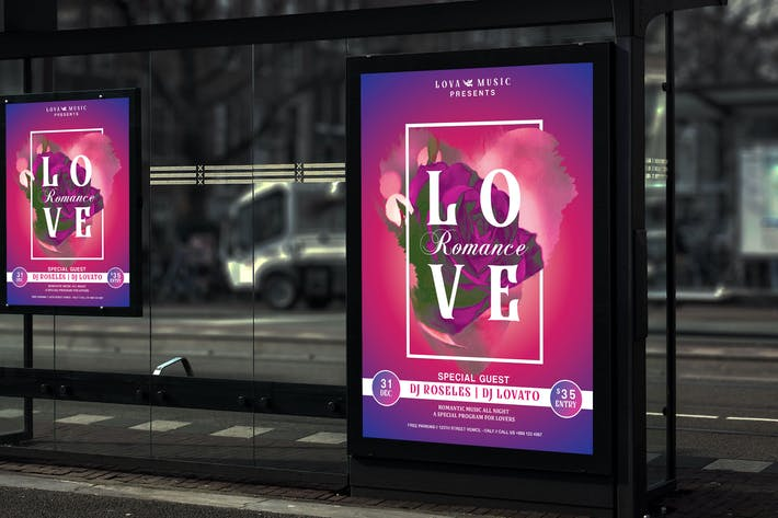 Thumbnail for Lova - Song of Love Music Poster HR