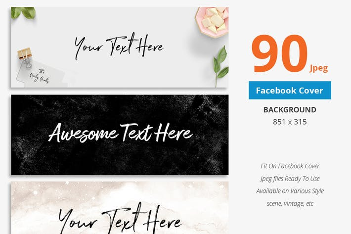 Thumbnail for 90 Facebook-Cover Hintergrund