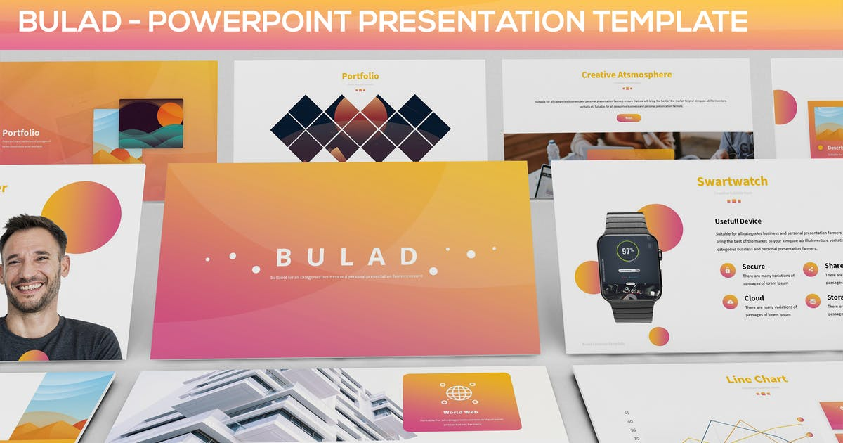 Bulad - Multipurpose Powerpoint Template by Unknow