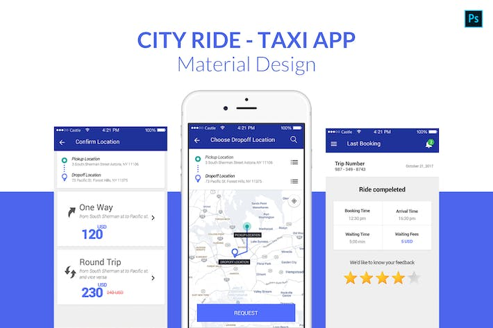 Thumbnail for City Ride - Taxi App