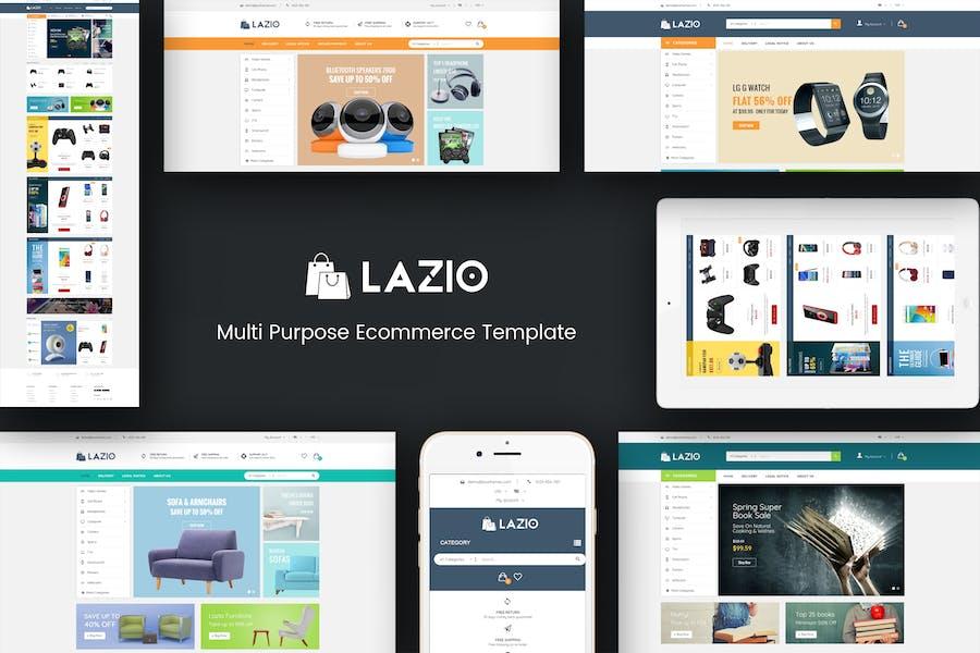 Lazio - Multipurpose Responsive Opencart 2.3 & 3.x