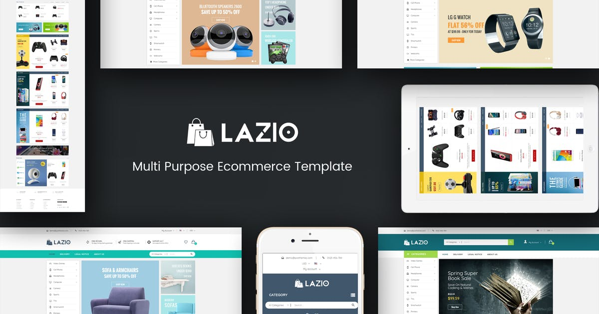 Download Lazio - Multipurpose Responsive Opencart 2.3 & 3.x by Plaza-Themes