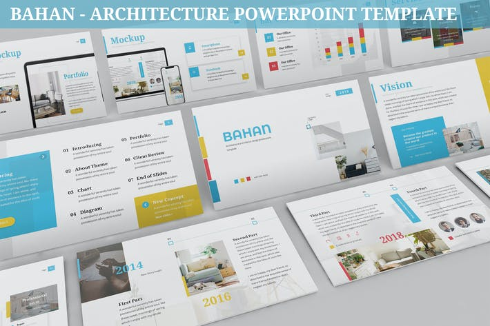 Thumbnail for Bahan - Architecture Powerpoint Template