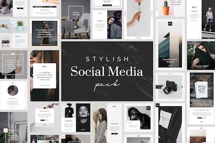 Stylish Social Media Pack