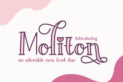 Moliton Font Duo