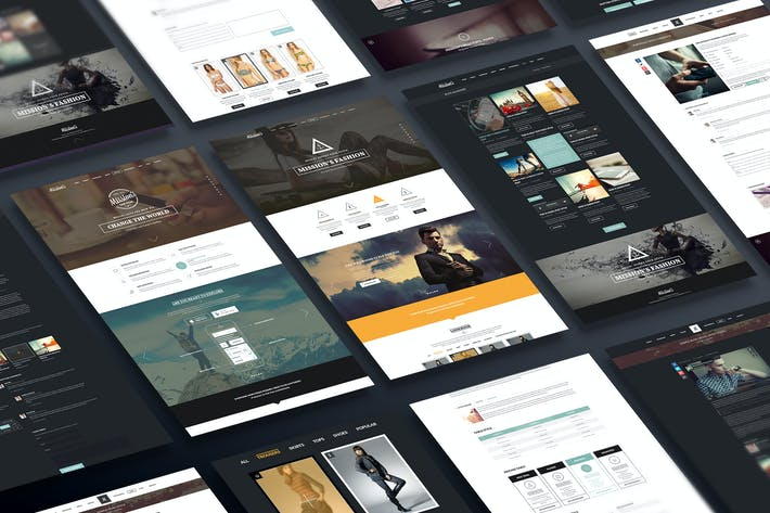 Thumbnail for Missions | One Page Multi-Purpose PSD Template