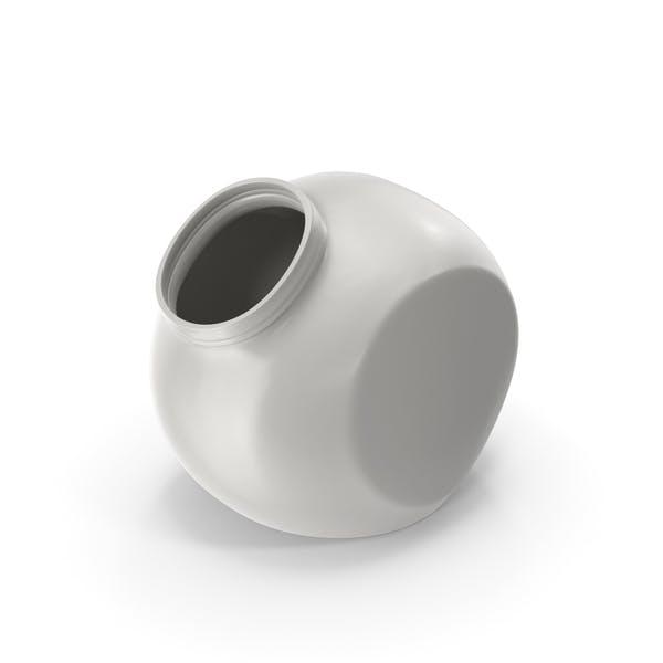 Thumbnail for Porcelain Spherical Jar Open