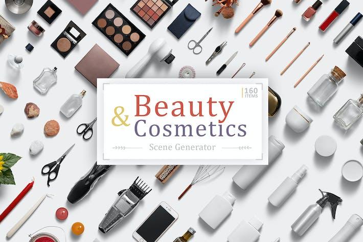 Thumbnail for Beauty & Cosmetics Scene Generator