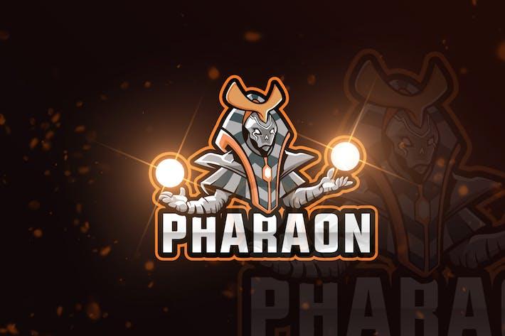 Pharaon Gaming Maskottchen & eSports Gaming Logo