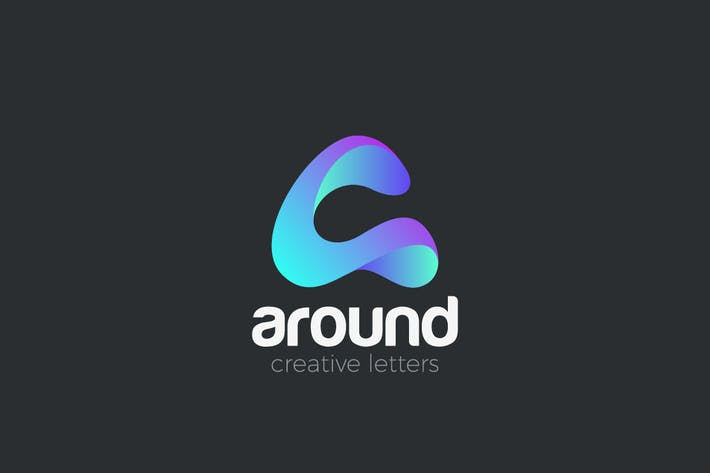 Thumbnail for Logo Letter A creative design media technology