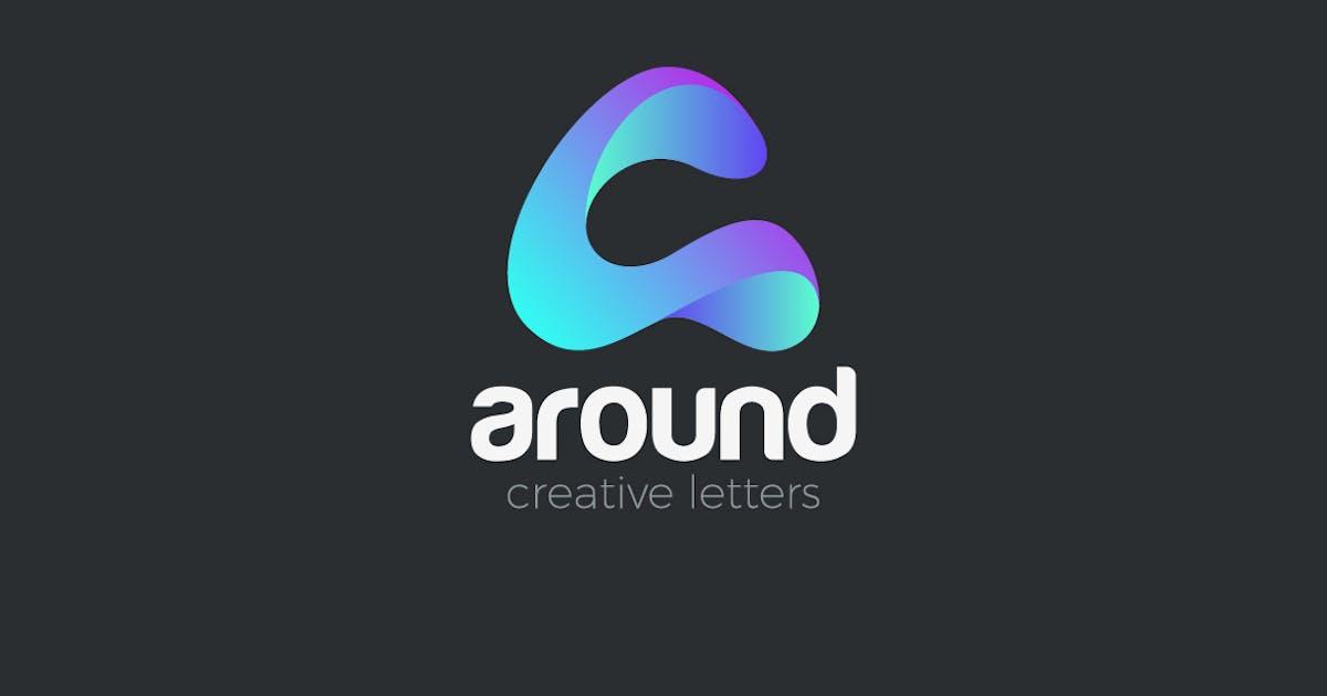 Download Logo Letter A creative design media technology by Sentavio