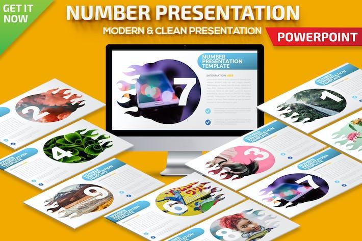 Презентация Powerpoint для номера