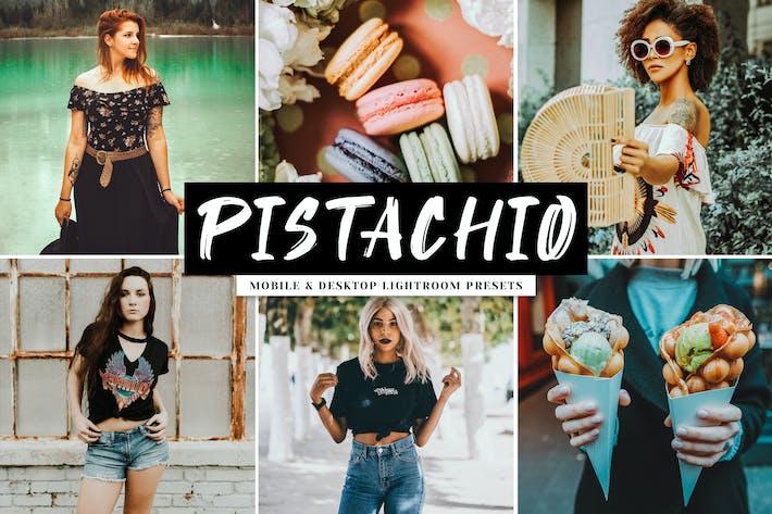 Thumbnail for Pistachio Mobile & Desktop Lightroom Presets