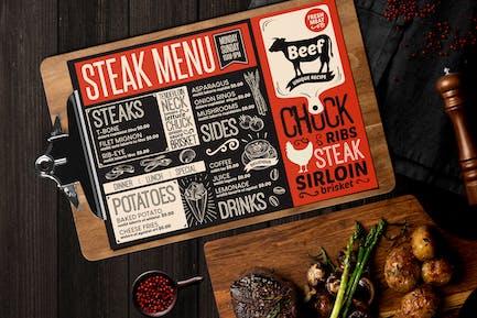 Steak-Menü