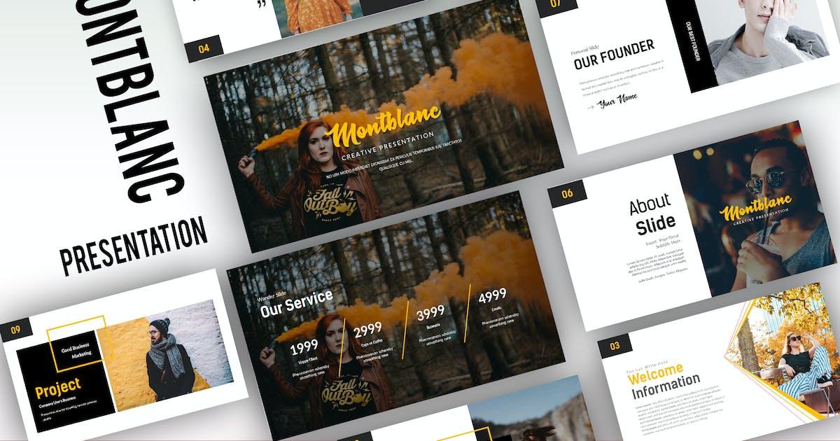 Download Montblanc Creative Keynote by Fourtyonestd