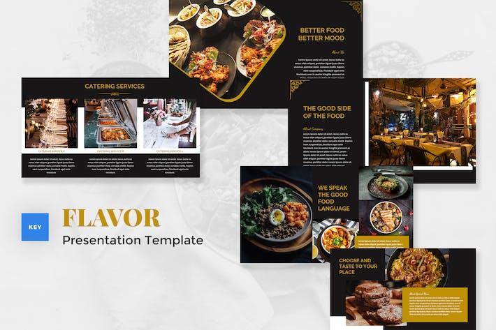 Catering & Food Keynote Template