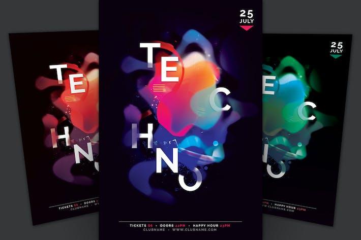 Thumbnail for Techno Флаер