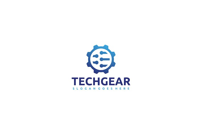 Thumbnail for Technology Gear Logo