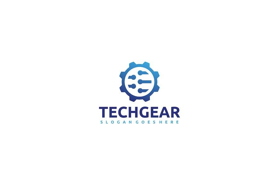 Technology Gear Logo