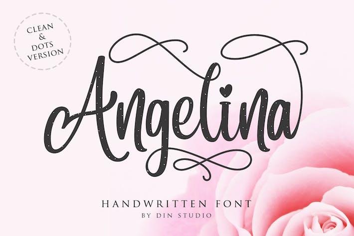 Angelina - Beautiful Script Font