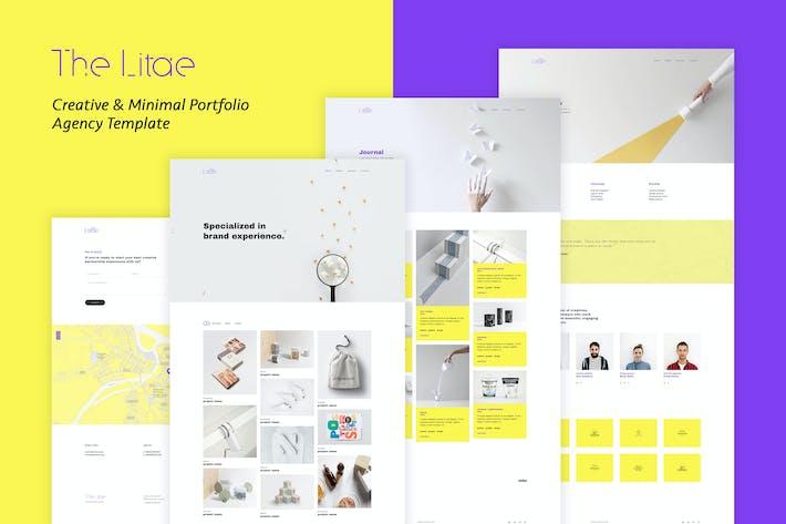 The Litae - Creative Portfolio / Agency Template