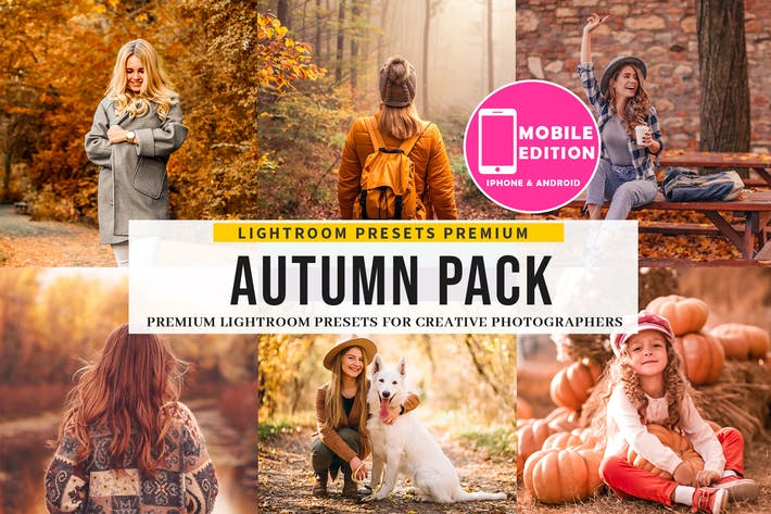Thumbnail for The Autumn Lightroom Presets