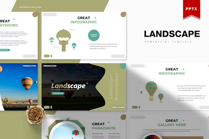 Thumbnail for Landscape | Powerpoint Template