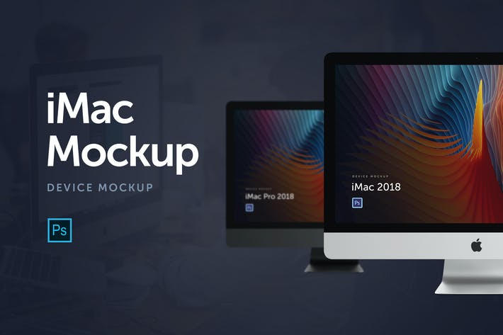 Thumbnail for iMac 2018 Mockup
