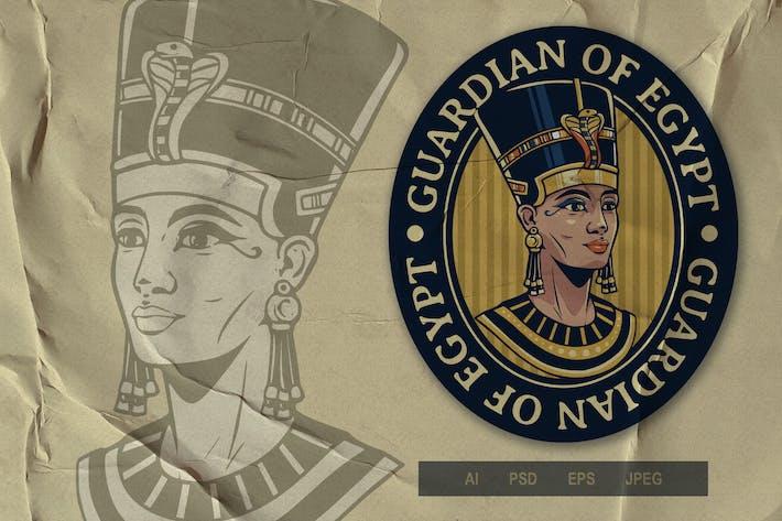 Vintage Emblem Logo - Egypt Series V2