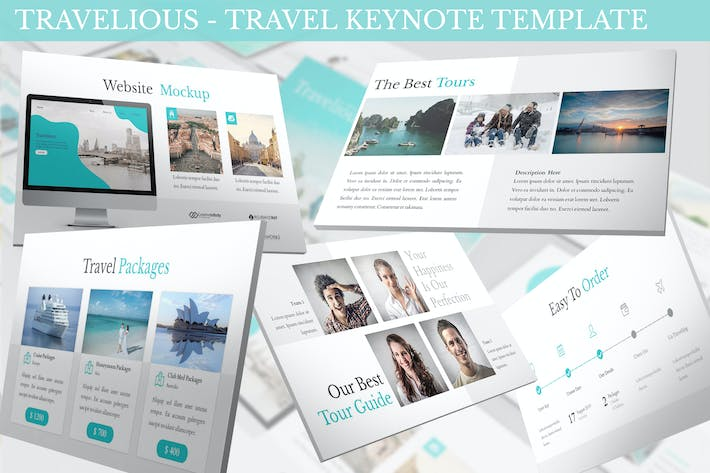 Travelious - Travel Keynote Template