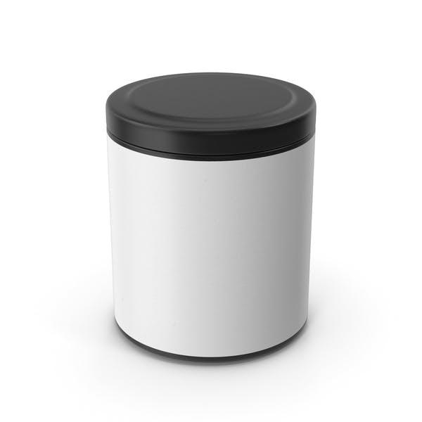 Kitchen Jar Black