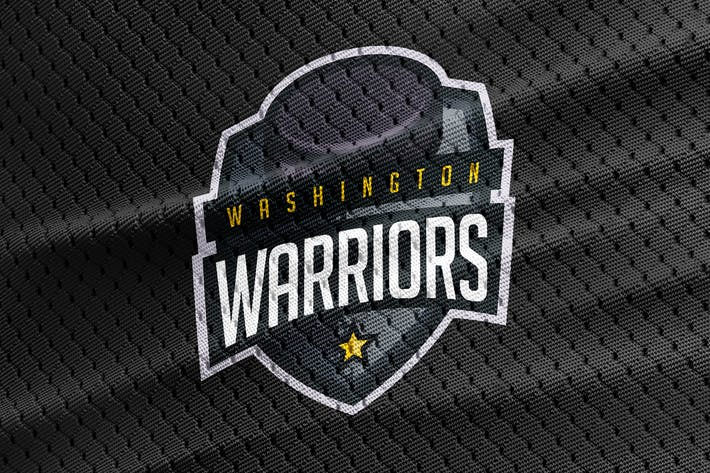 Thumbnail for Warriors - Hockey Team Logo Template