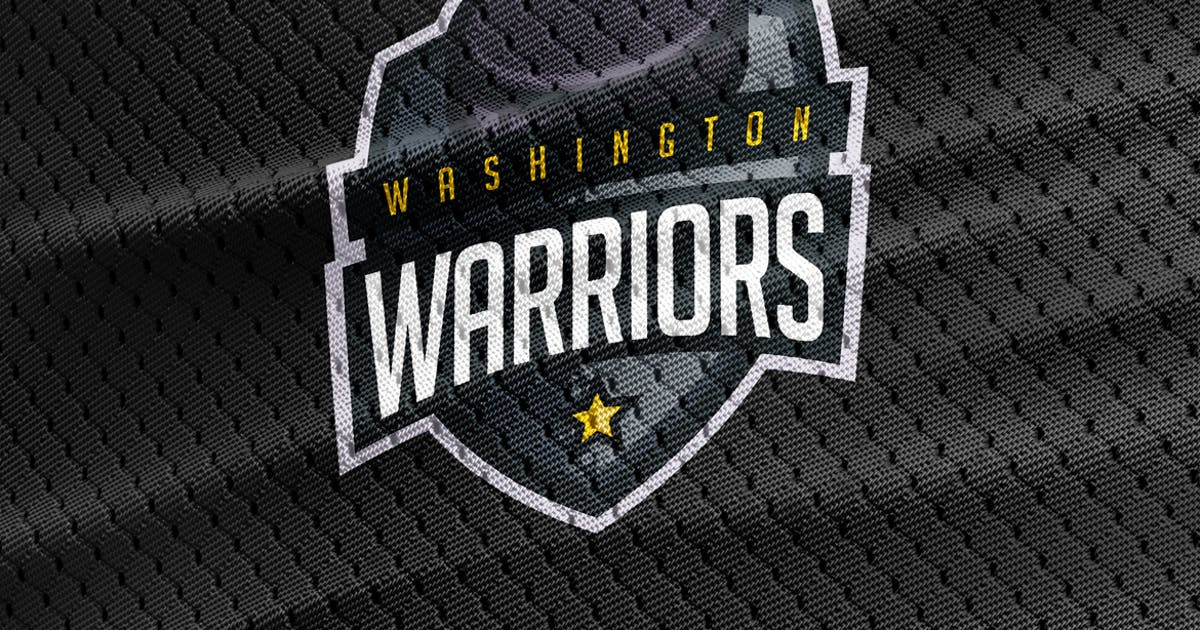 Download Warriors - Hockey Team Logo Template by Odin_Design