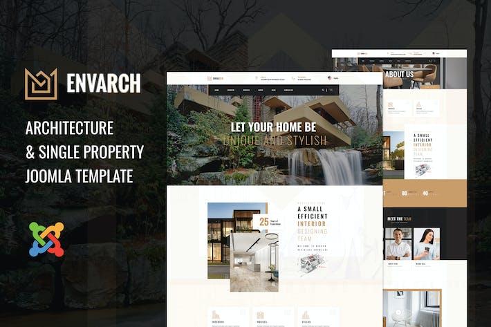 Thumbnail for EnVArch - Architecture et propriété unique Joomla