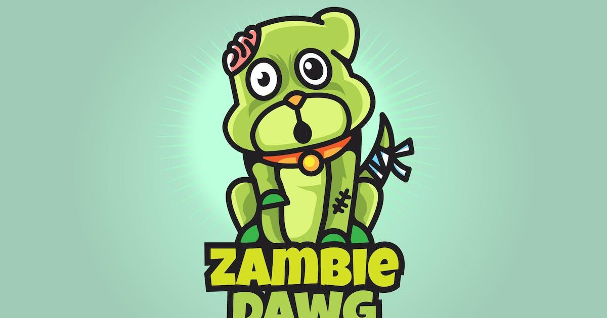 Download Zombie Dog - Mascot & Esport Logo by aqrstudio