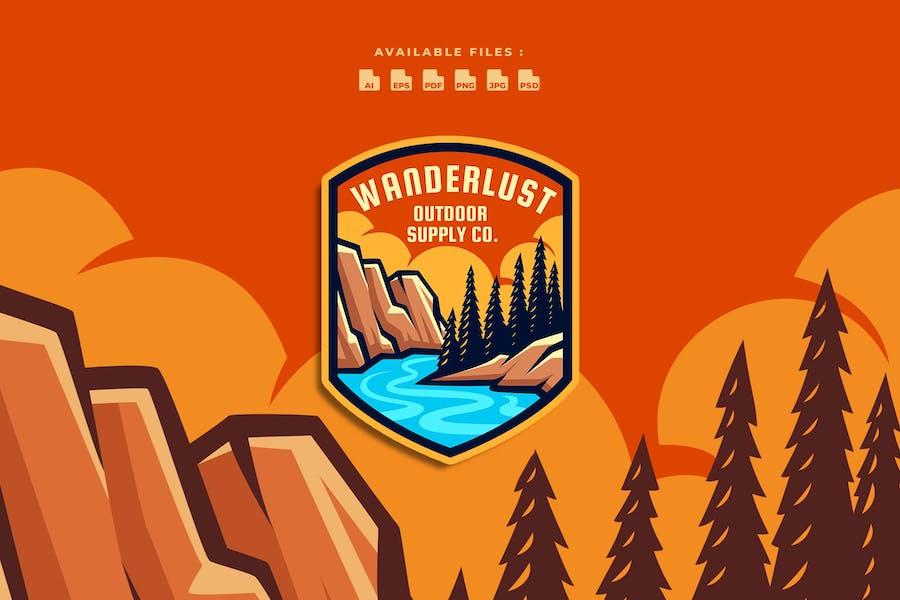 Wanderlust Outdoor Logo