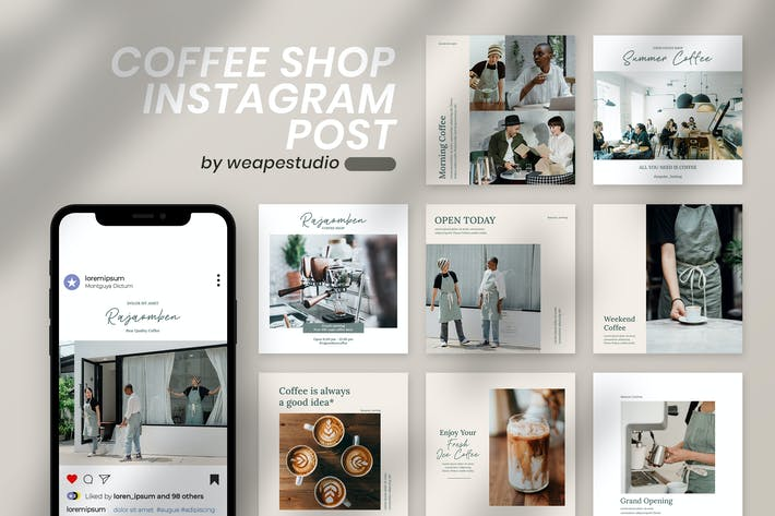 Thumbnail for Coffee Shop Instagram Post
