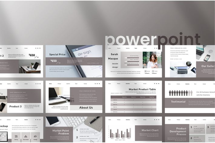 Thumbnail for Gemmo - Business Powerpoint Presentation
