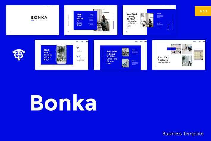 Thumbnail for Bonka Business - Google Slides