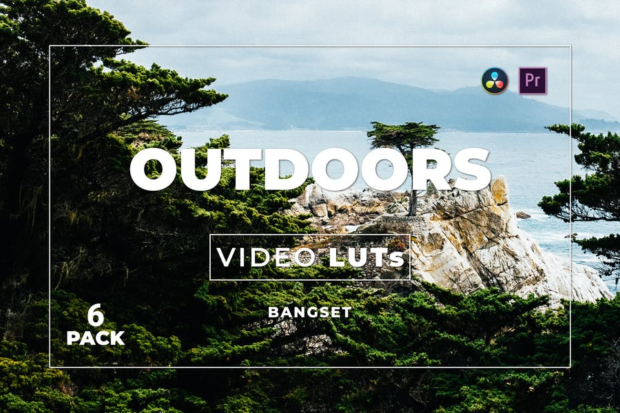 Bangset Outdoors Pack 6 Video LUTs